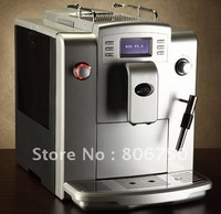 Fully Auto Coffee Machine +Professional CAPPUCCINO frother+10 languages function+LCD+Free Shipping