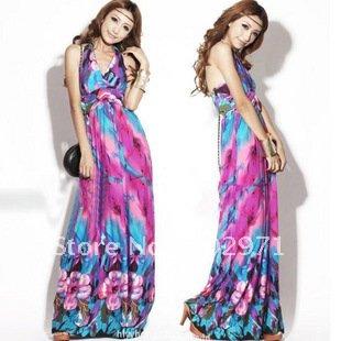 Full Length Summer Dress