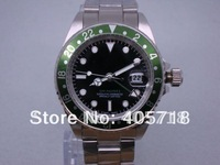 Free Shipping -  New Master Classic GMT Automatic Steel Men's Watches Luxury Mens Watch Wristwatch RO-017