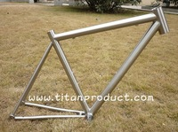 Titanium Road Frame 44mm Headtube/Di2 Cable Running/PF BB30 Shell