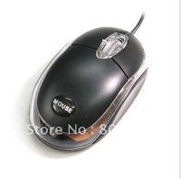 MINI LED USB Scrolling Wheel Laptop Notebook Optical Mouse Gaming Mouse Finger Mouse Computer Mouse free shipping