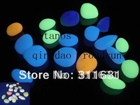 5kg handcraft photoluminescent  stone  / glow in the dark pebble highest  luminance for decoration and landscape  etc