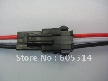 [Seven Neon]free DHL express shipping 50sets male and female connector for led pixel light with 18cm cable