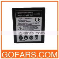 Battery for Samsung T-mobile Galaxy S2 T989,1980mah,100pcs/Lot,High Quality,Free Shipping