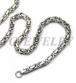 Freee shipping,Classic stainless steel knot chain necklace,TG827