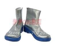 Wholesale Newest hot sale Cheap Halloween Cosplay Shoes & Boots Vocaloid Haku Boots for Christmas 556