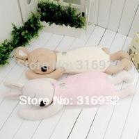 J1 Warm and cute plush toy le sucre rabbit shaped nap pillow cushion 75cm 1pc