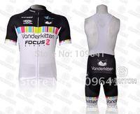 free shipping! new Kitten 2012 team  short sleeve cycling jersey and bib shorts Kit,bike jersey,short cycling wear suit