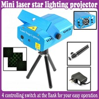 Mini Projector Holographic Laser Star Stage DJ Lighting Mini New dj equipment laser lights_Free Shipping