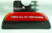 "USB 3.0 Dual/Twin 3.5""/2.5"" SATA HDD Dock / Docking station, HDD Enclosure, Free Shipping"