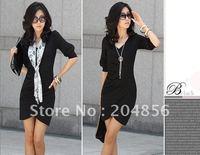 Free shipping wholesale Ladies dress ,Polyandrum Fashion Sexy Women Dress