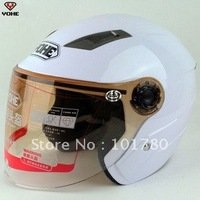 High quality Summer Helmet,Fashion ABS Half Face Motorcycle Helmet,Size From S-XXL,Pink,Red,White,Black,Silver Color