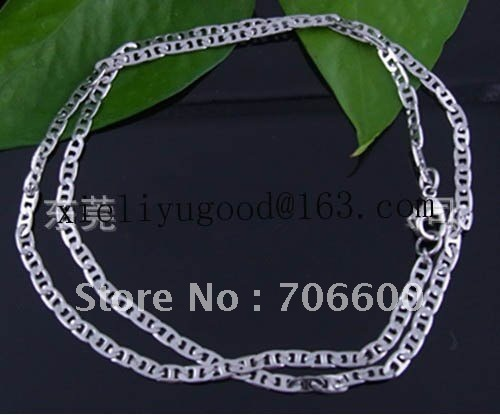 Free shipping!450mm length,stainless steel necklace, Mix order,Wholesale Necklace,chain Necklace Suppliers & Manufacturers(China (Mainland))