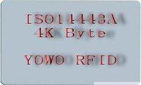 RFID Tag, 4K Byte, RFID 4K, RFID Card