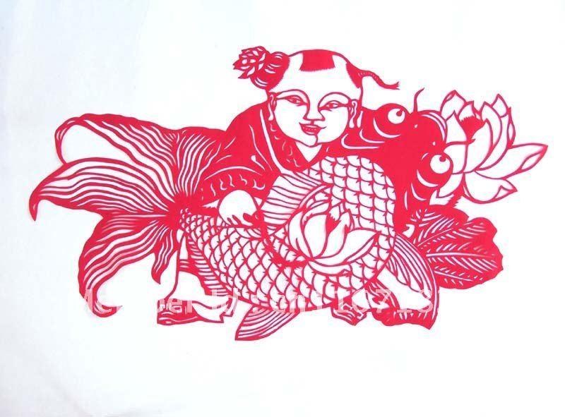 Chinese paper cutting wedding