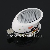 Mini Portable Speaker USB SD Card Reader MP3 Player Easy Plug and Play  Crad Reader Speak No External Power Needed