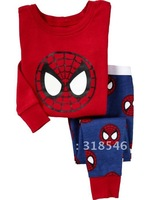 2014 FREE SHIPPING 6sets/ lot 100% cotton  baby clothing suit children living clothes baby  wear kids spring and autumn pajamas