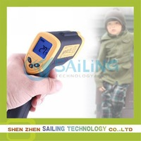 Free shipping Non-Contact Digital Infrared Thermometer Temperature with Laser -50~380 degree,dropshipping ,Retail Wholesale