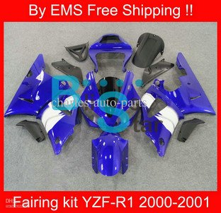 Free shipp YZF-R1 00-01 YZF R1 2000 2001 YZFR1 00 01 YZF-R1 2000-2001 Motorcycle fairing kit 5079