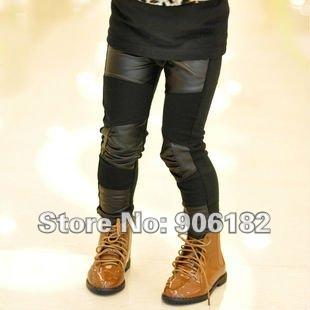 Черные брюки кожаные с доставкой