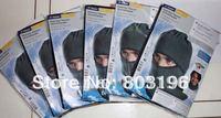 Free Shipping 20PCS/LOT TCM Men Multi-type Windproof Winter Fleece Balaclava Hat for collar scarf face mask