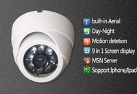 Mini IP Camera, wireless wifi camera, built-in Aerial, Motion Detection, Nightvision 8 IR LED.