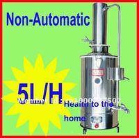 Stainless water distiller Distilled water purifier machine 5L/H