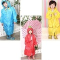 Free shipping wholesale  1pieces New han edition cartoon characters children's raincoat Students YuPi