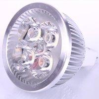 fast shipping 4 LEDs Light Blub Replacement MR16 4W 12V Warm White 4LED Bulb Spot Lamp Down Light