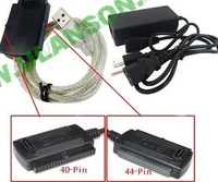 free shipping 3 in 1 USB 2.0 to SATA / IDE HD HDD Adapter Cable ULS-UIS01