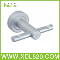 Xiduoli Free shipping Modern Bathroom Double Clothes Robe Hook XDL-7117