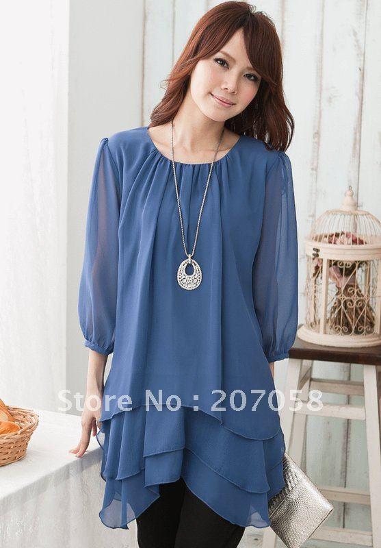 Модные Шифоновые Блузки 2015 С Доставкой