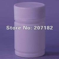 Free shipping (500sets/lot) 20ml round white PE bottle,medicine bottle,plastic bottle, empty bottle