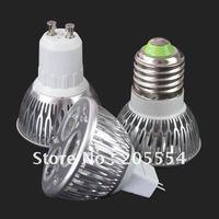 9W 110V 220V E27 9W 3x3W LED Cool White Light Bulb Lamp Torch AC 85V-265V   #2705