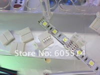 [Seven Neon]Free DHL delivery 300pcs 5050 led strip clip for RGB&single color,LED strip connectors for led strip