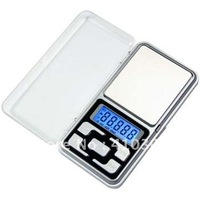 Digital Scale Jewelry Weight Scale Blue Back Light LCD Display Weiheng Mini New Arrival Freeshipping 100 pcs