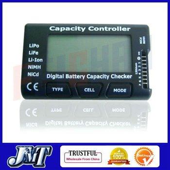 F01974 G.T.POWER Digital Battery Capacity Checker , Cell meter For NiCd NiMH,Li-Po,LiFe,Li-lon AKKU cellmeter-7+US Free shipping