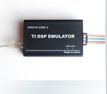 Free Shipping USB 2.0 JTAG TMS320 XDS510 TI DSP Emulator Programmer +3 CD+support CCS3.3+support WIN7 F2833x