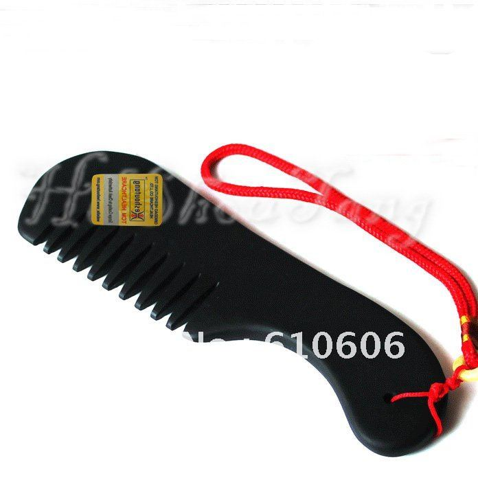 Magic Energy Health Comb/Black Stone / prevent and treat hair loss,baldness, insomnia, fatigue, dizziness, eye blurry, cold