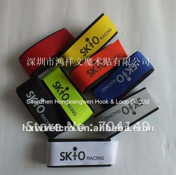 Functional Velcro ski strap+Free custom logo