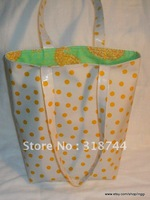 Raindrops X.Large Tote with PVC covering