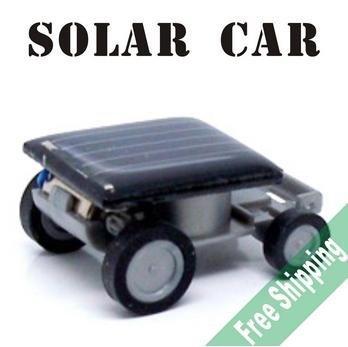 Mini Solar Car Kit Educational Solar toys Smallest Mini Solar Powered Robot Racing Car Toy