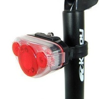 NEW 5 LED Bicycle Bike Rear Tail Lamp super Lightred