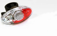 NEW 4 LED Bicycle Bike Safety Light