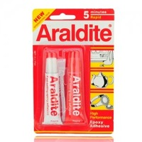 Araldite Fast-setting AB Epoxy Adhesive Glue 5 Minutes Rapid Watch Tool 50530 free shipping