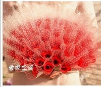 20pcs/lot Free shipping single artificial rose flower, Rose Bouquet for wedding and party,house decoration