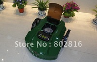 100m Virtual Wire/The Second Genetation /Newest Robot Garden Mower+Time Setting By LCD+cutting height: 2.5cm-6.5cm