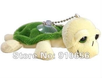"Free shippingI 3.5"" Plush Stuffed Sea Turtle Promotion gift Mobile phone chain/accessories"