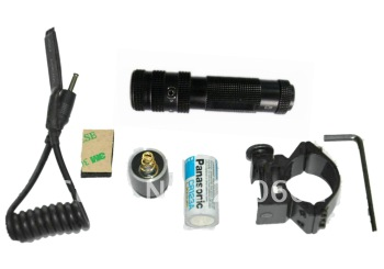 Free Shipping 10PCS X LRS-1(Hunting 650nm Red Dot Laser Sight Mount 20mm switch)-Express Via DHL