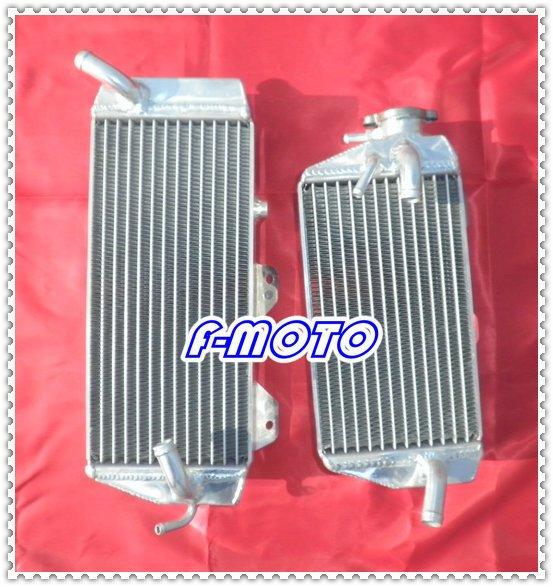 KAWASAKI KXF450 08 KLX450R 08 09 alloy aluminum motorcycle radiator KX450F KXF 450 2008(China (Mainland))